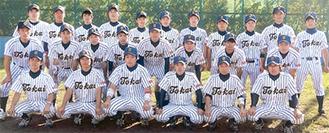 軟式野球部の選手たち