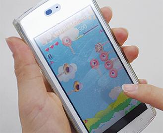 ゲームアプリの画面