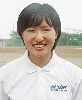 女子長距離チームのキャプテンも務める寺内希さん