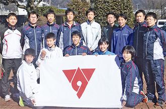 秦野市チームの選手たち