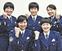 交番に5人の女性警察官