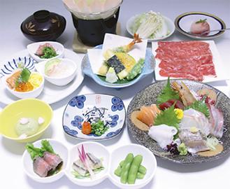 会食5,500円プラン例