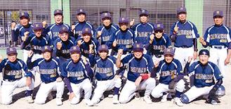 秦野遊球倶楽部古希チームのメンバー