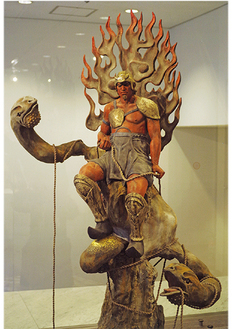 山崎さんの作品『自己の中の石部』