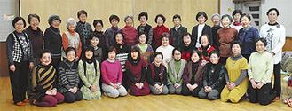 渋沢どんぐり合唱団のメンバー