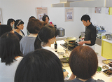 旬野菜の調理法学ぶ