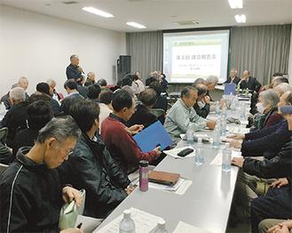 多くの市民が参加し活発な質疑応答が行われた