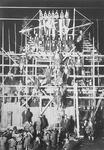 上棟式の写真(1928年頃)