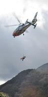 山岳救助訓練を実施