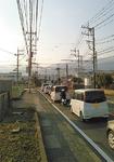 慢性的な渋滞(旧職業技術校前)
