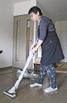 高齢者宅での清掃ボランティア