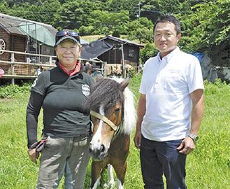 福島さん(左)と樺島副社長