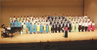 前回の合唱ステージ