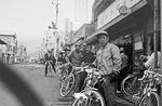 片野自転車店から本町四ツ角方面を撮影した写真(1966年)