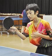 卓球ダブル優勝で全国へ