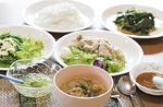 三浦さんが自分の野菜で作ったタイ料理