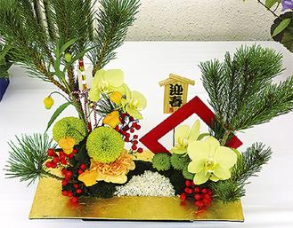 会場に展示された土橋さんの作品