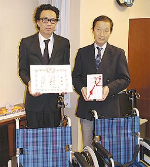 鈴木部長(左)と田中院長