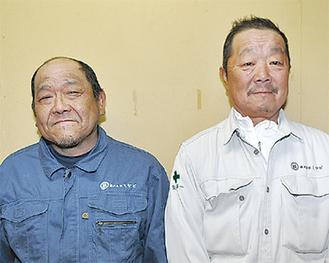 馬場さん(左)と安田さん(右)の2人