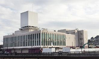 解体工事が実施される建物