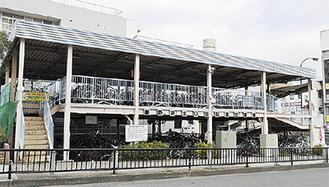 建て替えされる秦野駅北口自転車駐車場