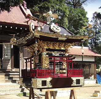 新造当時の姿を取り戻した須賀神社神輿