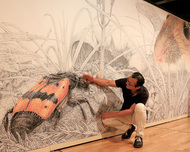「舘野鴻の世界」展示で体感