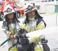 秦野を守る小さな消防士