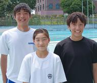 水泳、関東で自己ベスト狙う