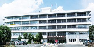 工事が完了した本庁舎