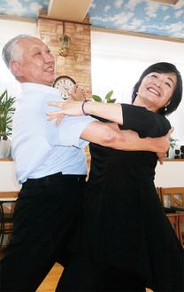 田村正一さん70歳・まち子さん68歳秦野市平沢在住