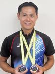 全日本でメダル2つをとった小山田さん