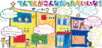 子ども達や職員が考える夢の校舎