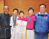 全国幼年大会でメダル