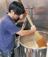 落花生で地ビール製造