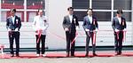 高橋昌和市長(中央)も参加して開催された式典