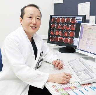 外科診療部長の壁島康郎医師