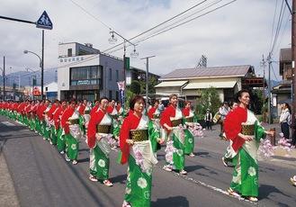昨年の山開きパレード