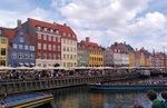 デンマークのニューハウンの街並み