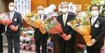 花束が贈られたチャーターメンバー