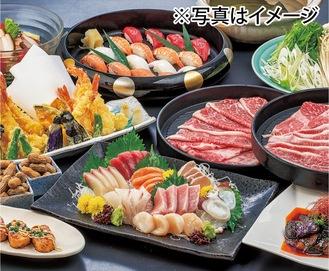 6千円の料理例