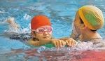 着衣水泳前の水泳指導