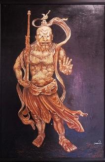 相原さんの作品、金剛力士像