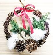 クリスマス飾り展示会