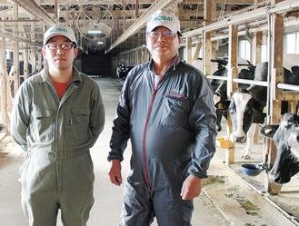 小林代表(右)と小川さん