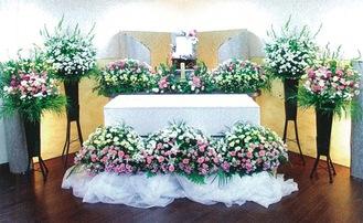 「たんざわ」での葬儀イメージ
