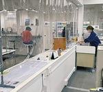 入場制限と飛沫感染防止