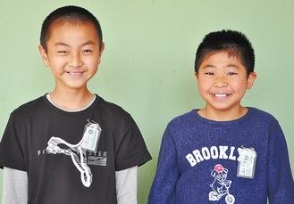 石木田さん(左)と高橋さん(右)