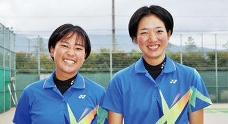 加瀬澤(左)・今井ペア