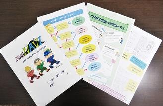 『家庭学習攻略本maNAVI』の一部
